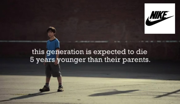 How Nike told their CSR story with video.