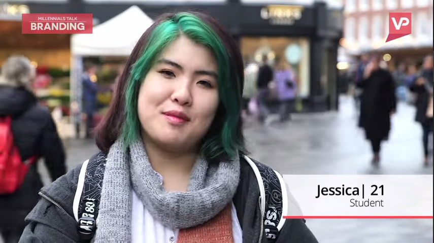 Still image taken from a video about millennials and brand promotions