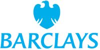 This is an image of the Barclays bank brand logo.