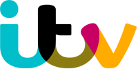 This is an image of the ITV brand logo.