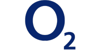 This is an image of the o2 brand logo.