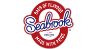 This is an image of Seabrook crisp brand logo.