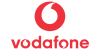 This is an image of the Vodafone brand logo.