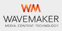 This is an image of the Wavemaker brand logo.