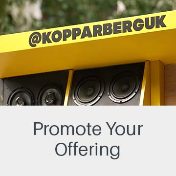 Promote your offering