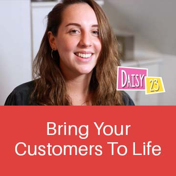 Image showing Daisy, a target consumer. Image taken from a video that was used to bring this customer segment to life.