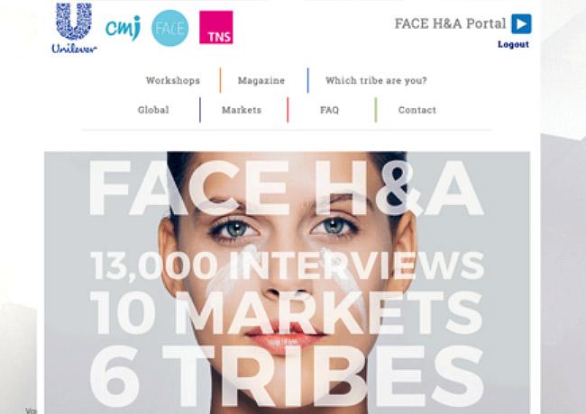 Image of Unilever's video insight portal.