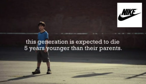 Nike CSR Story, told using video.