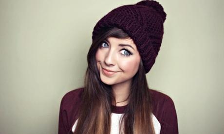 Image of celebrity vlogger, Zoella.